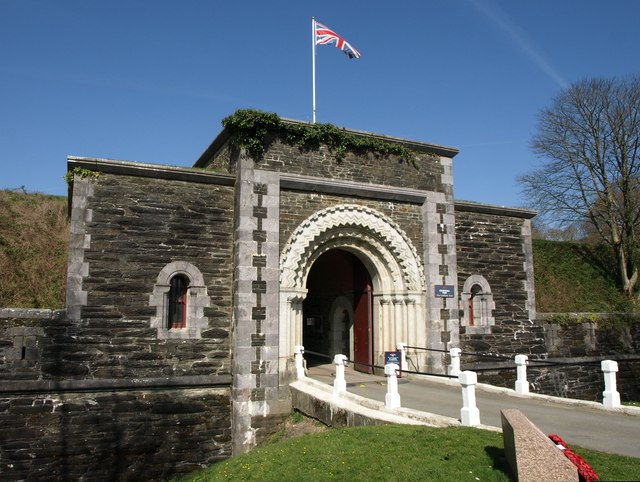 Entrance to Crownhill Fort