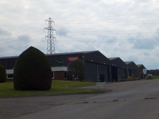 Industrial units at Holmfield