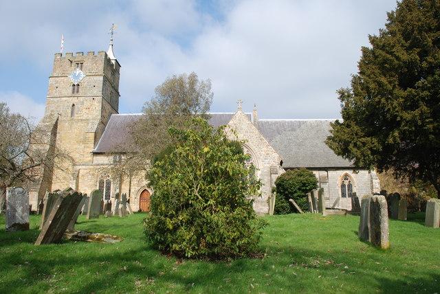 Brenchley Village church
