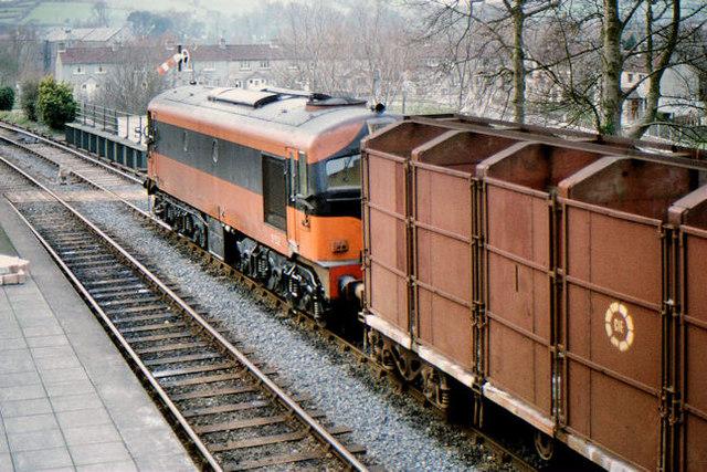 Fertiliser train at Cahir
