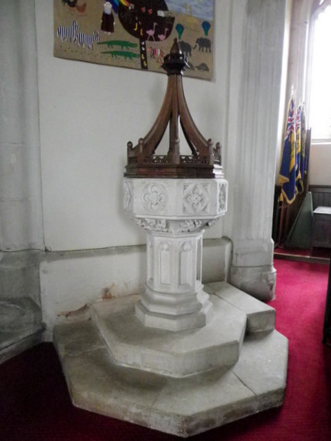 Church interior, St Disen's Church