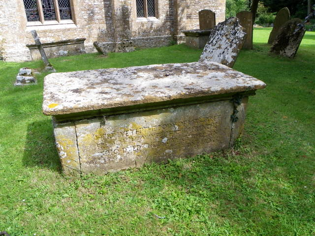 Chest tomb, St Mary's Church