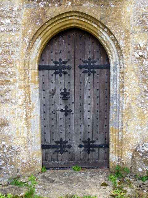 Door, St Mary's Church
