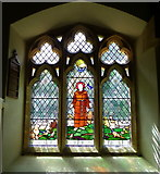 ST5308 : Stained glass window, St Mary's Church by Maigheach-gheal