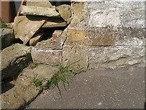 TA0816 : Old benchmark on St Andrews Church by John Slater