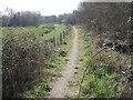 SU4516 : Itchen Way near Southampton Airport by Chris Wimbush