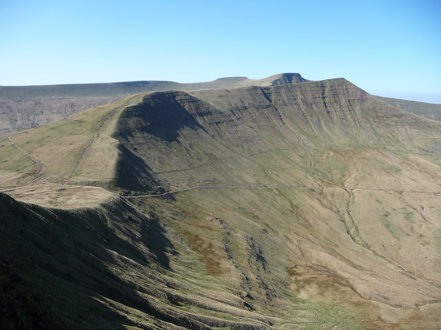 The Brecon Beacons from Fan y Big