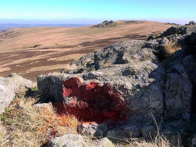 Red ochre deposit, Housey Crags