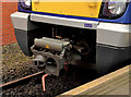 J3473 : Automatic train coupling, Central station, Belfast by Albert Bridge