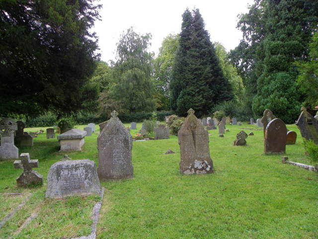 Churchyard, The Church of the Holy Rood