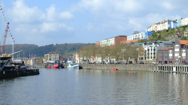 Cliftonwood from the Floating Harbour