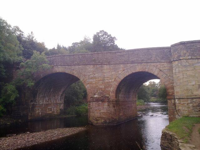 Bridge over the River Derwent at Blanchland