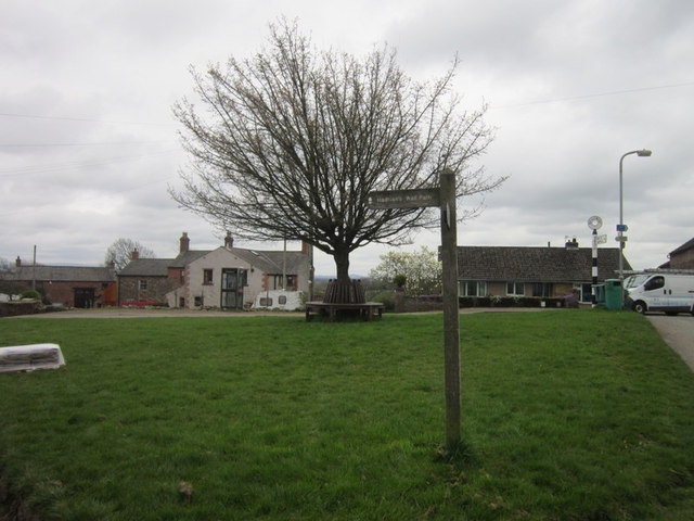 The village green, Beaumont