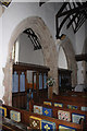 SH5948 : Interior of St Mary's Church, Beddgelert by Jeff Buck