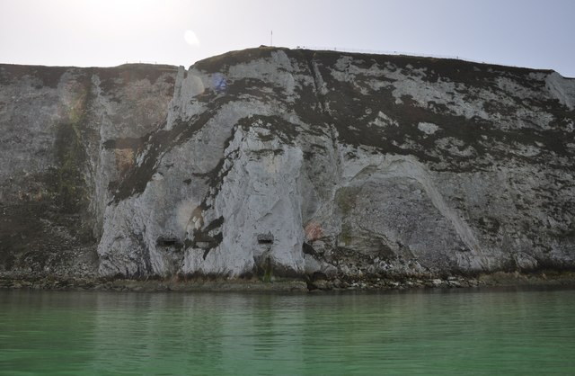 South Wight : White Cliffs