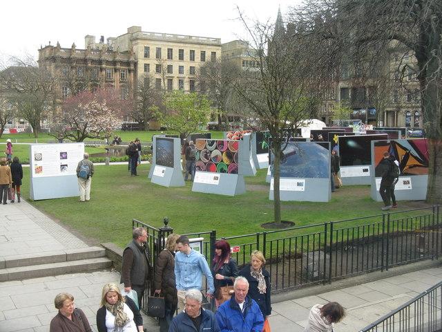 Exhibition, St Andrew Square