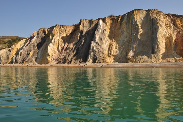 South Wight : Alum Chine Bay
