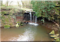 ST5461 : Waterfall near Chew Stoke by Rick Crowley
