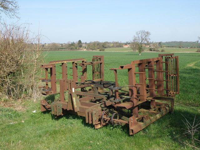 A dutch harrow masquerading as a gate