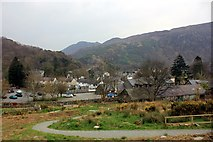 SH5848 : View towards Beddgelert by Jeff Buck