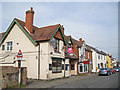 SP7501 : Pub, fast food and housing, Lower Road, Chinnor by Richard Dorrell