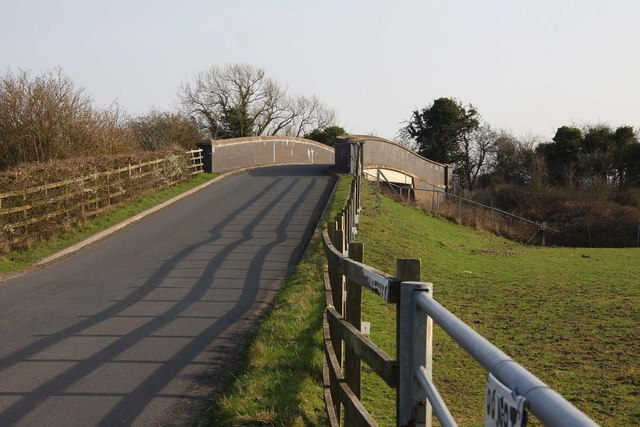 Denchworth Road Bridge over the railway