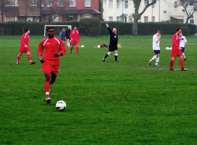 Football match, Whitley Road, Eastbourne (2)