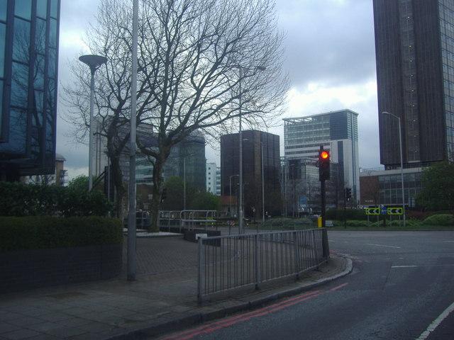 Office blocks on Park Lane, Croydon