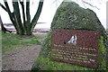 NX6548 : Schooner 'Monreith' memorial stone by Peter Turner