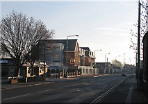 SK5838 : An April morning in Radcliffe Road by John Sutton