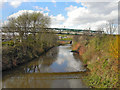 SK3991 : River Don, Meadowhall by David Dixon