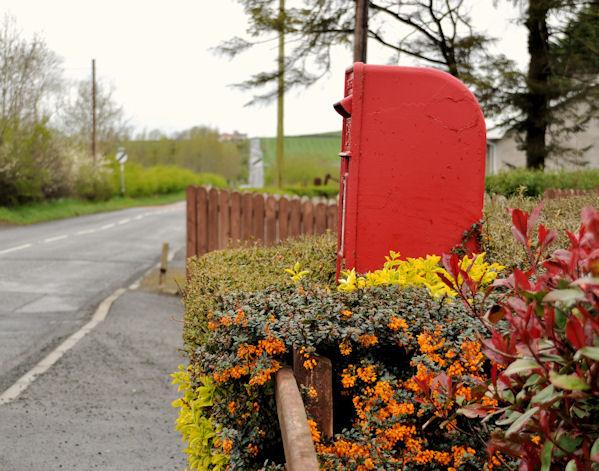 Letter box, Drumlough near Hillsborough