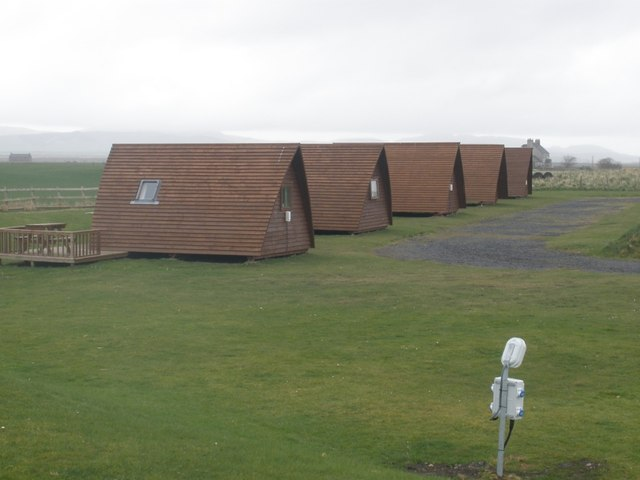 Chalets, Machrihanish Camping & Caravan Park