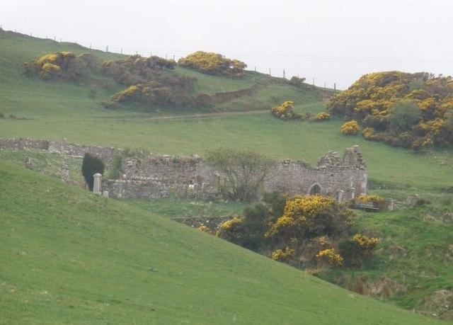 Kilkivan Chapel, near Machrihanish, South Kintyre