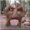 TM0580 : Wicker Sculpture at Redgrave & Lopham Fen by Roger Jones