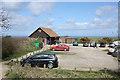 TA1973 : Visitor Centre and car park, RSPB Reserve, Bempton by Pauline E