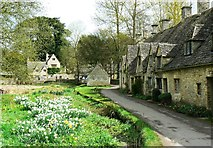 SP1106 : Arlington Row, Bibury, Gloucestershire by Brian Robert Marshall