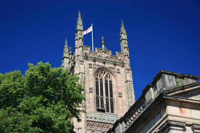 Peregrine Falcon Nest on Derby Cathedral