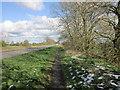 NZ0268 : Heading east near Turret 19B by Ian S