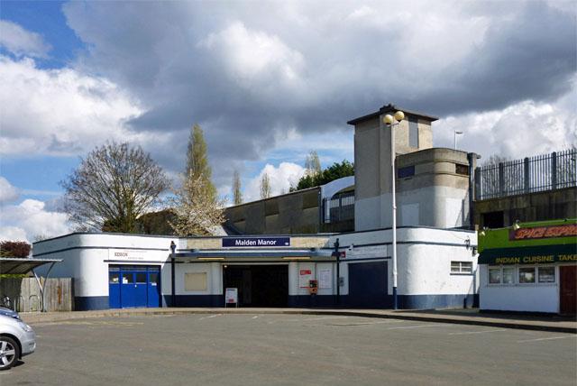 Malden Manor station
