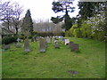 TM3961 : Graveyard of St. Mary Magdalene Church, Sternfield by Adrian Cable