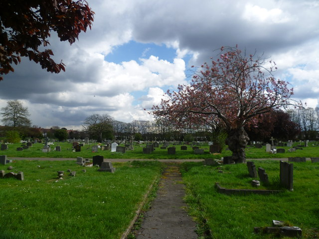 Path in Streatham Cemetery