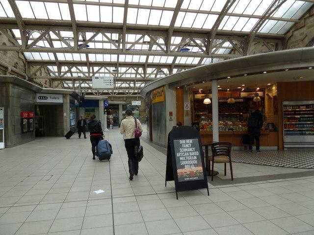 Inside Sheffield Railway Station 169 Basher Eyre Geograph