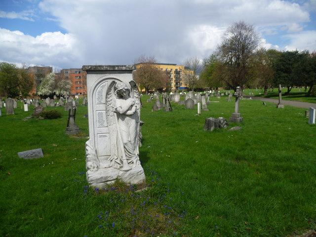 Memorial in Streatham Cemetery