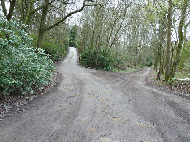 Private drive off the Sussex Border path