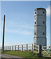 TA2470 : The old octagonal Beacon light tower by Pauline E