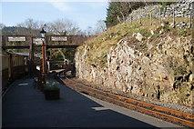 SH6441 : Tan-y-Bwlch Railway Station by Bill Boaden