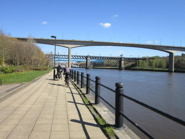 The New Redheugh Bridge, Newcastle