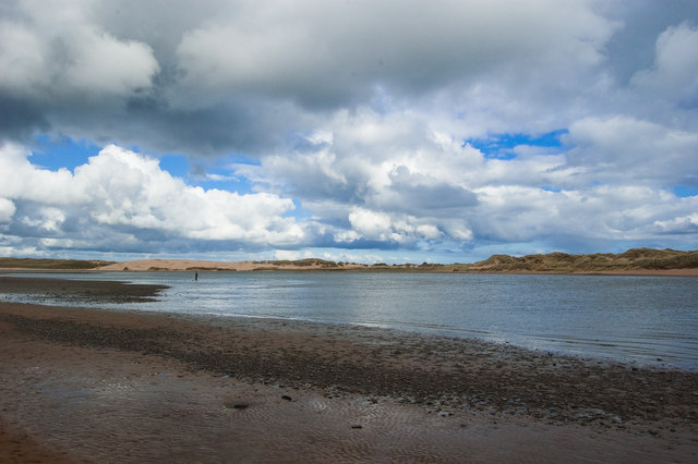 Skyscape over the Ythan mudflats