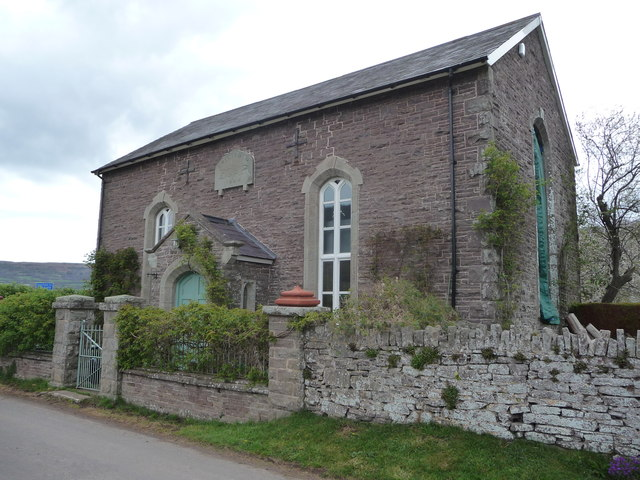 Converted chapel in Tretower